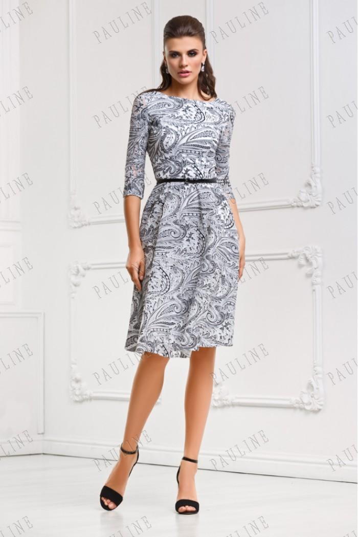 Короткое платье из кружева РУМА Этно