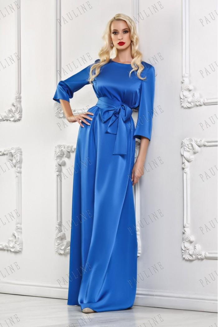 Вечернее платье с рукавом ВАГНЕР макси