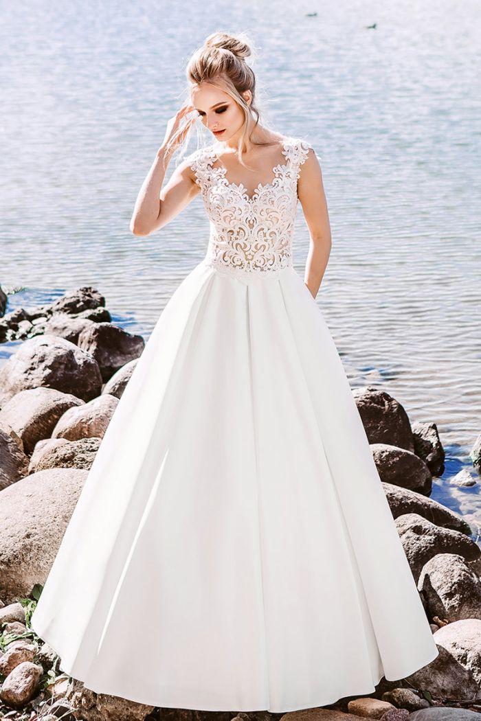Свадебное платье в английском стиле для любительниц классики ЛАВАНДА