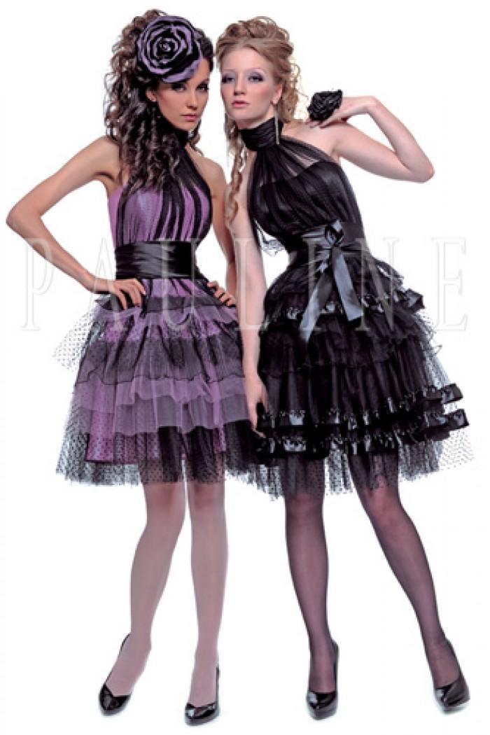 Короткое платье на выпускной с пышной юбкой ИЛАН