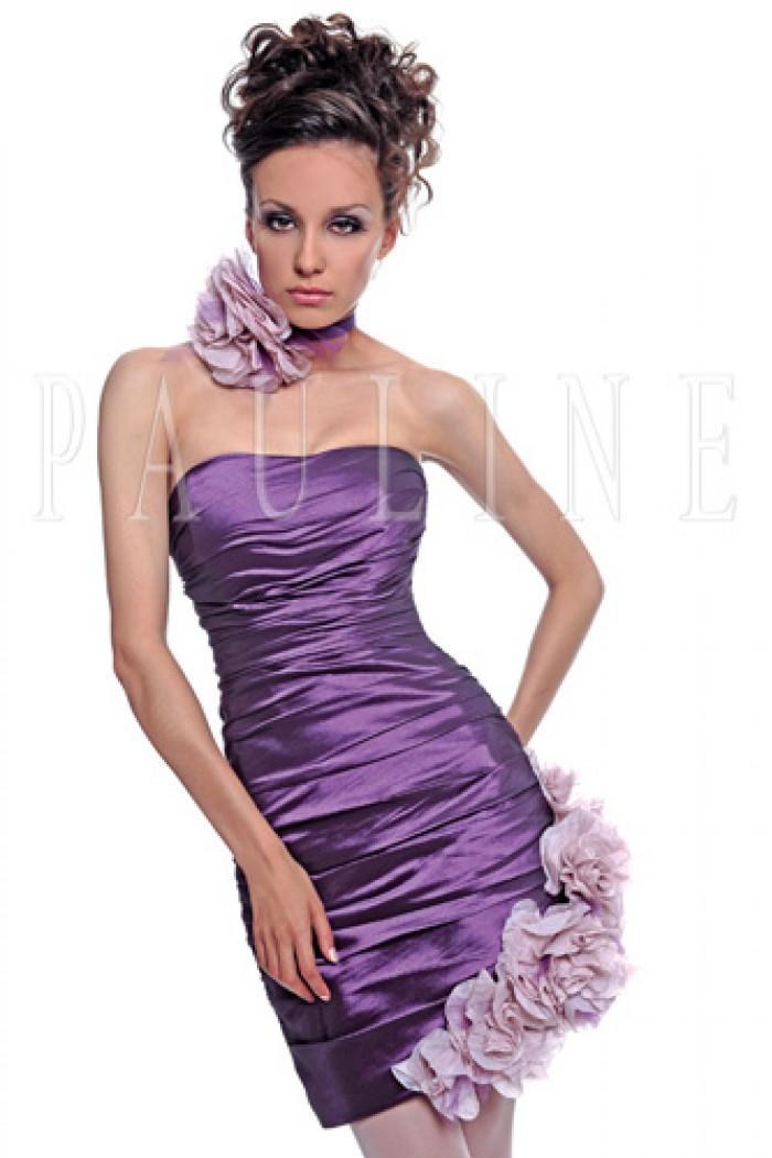 Коктейльное платье с фантазийным декором ФИОРДАЛИЗ