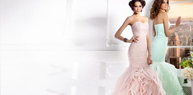 Платья свадебное и выпускной